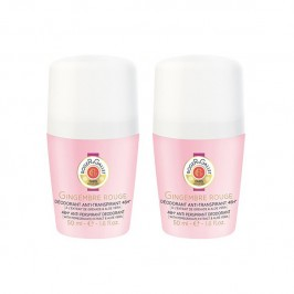 Roger&Gallet déodorant gingembre rouge 2x50ml
