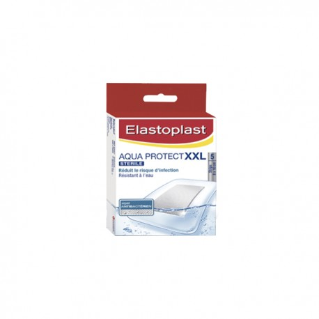 Elastoplast pansements aqua protect xxl 5 pansements