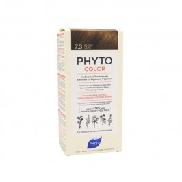 Phyto color Kit de coloration permanente 7.3 blond doré