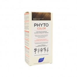 Phyto color Kit de coloration permanente 8.3 blond clair doré