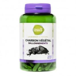 Pharmascience charbon végétal 200 gélules