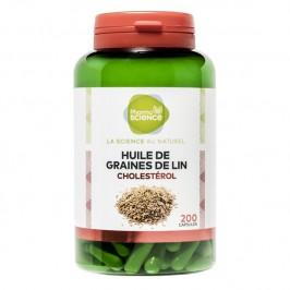 Pharmascience huile de graines de lin 200 capsules