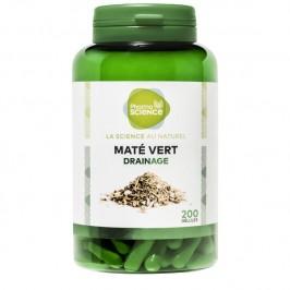 Pharmascience maté vert 200 gélules