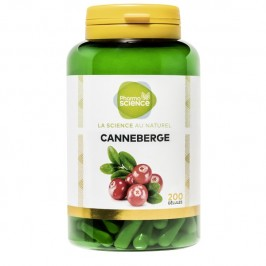 Pharmascience canneberge 200 gélules