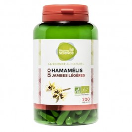 Pharmascience hamamélis bio 200 gélules
