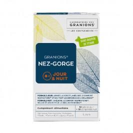 Granions nez-gorge 10 gellules et 10 comprimés