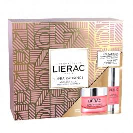 Lierac coffret supra radiance crème et éclat regard