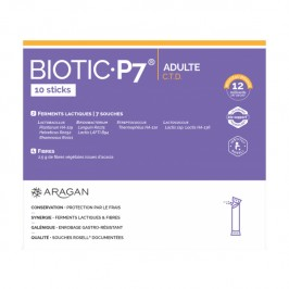 Aragan biotic p7 adulte c.t.d 10 sticks