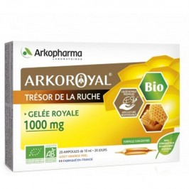 Arkopharma Arkoroyal gelée royale 1000mg duo 20 ampoules