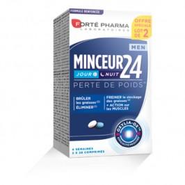 Forté Pharma Minceur 24 Fort Lot de 2 x 28 Comprimés