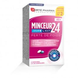 Forté Pharma Minceur 24 Fort 45+ Lot de 2 x 28 Comprimés