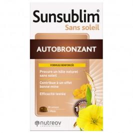 Nutreov sunsublim autobronzant duo 28 capsules