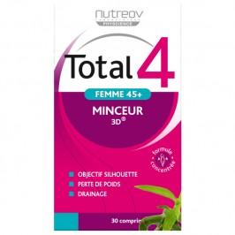 Nutreov Total 4 Femme 45+ Lot de 2 x 30 Comprimés