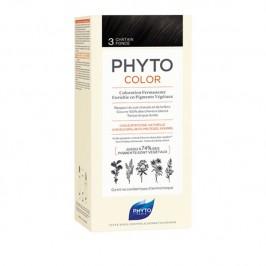 Phytocolor 3 Permanente Châtain Foncé
