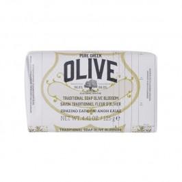 Korres savon olive & fleur d'olivier 125g