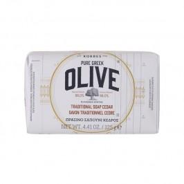 Korres savon olive & cèdre 125g