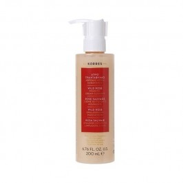 Korres rose sauvage creme nettoyante moussante rose 200ml