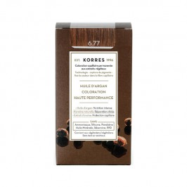 Korres coloration permanente 06.44 blond foncé marron intense
