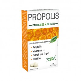 PROPOLIS 40 PASTILLES LES 3 CHENES