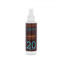 KORRES SOLAIRE HUILE COCO IP20 150ML