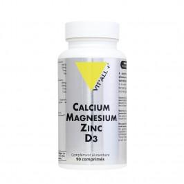 Vitall+ ca mg zn d3 90 comprimés