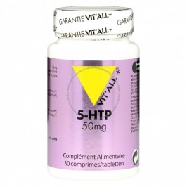 Vitall+ 5-htp griffonia 50mg 30 comprimés
