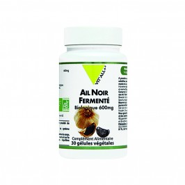 Vitall+ ail noir femente bio 600mg 30 gélules
