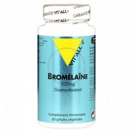 Vitall+ bromelaine 500mg 60 capsules