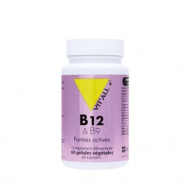 VITALL VITAMINES B12&B9 60 GEL