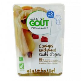 Dodie good gout bébé courges butternut sauté d'agneau 190g
