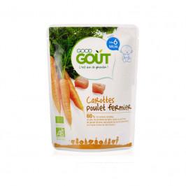 Dodie good gout bébé carottes poulet fermier 190g