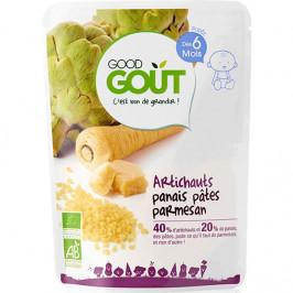 Dodie good gout bébé artichauts panais pâtes parmesan 190g