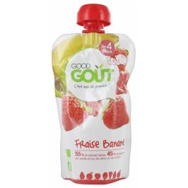 Dodie good gout bébé fraise banane 120g