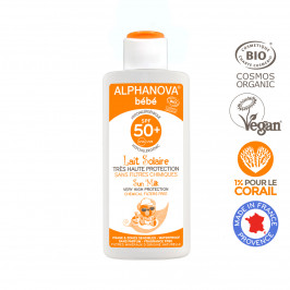 ALPHANOVA SUN BIO LAIT BB SPF50 125ML