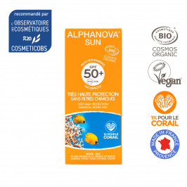 ALPHANOVA SUN BIO CREME SOLAIRE TRES HAUTE PROTECTION SPF 50