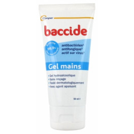 BACCIDE GEL NETT 50ML TUBE