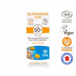 ALPHANOVA SUN BIO SPF 50 EXTR CR TEINTEE CLAIRE