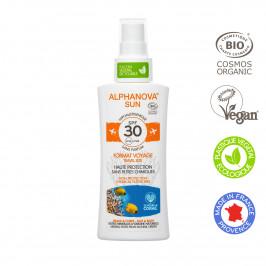 ALPHANOVA SUN BIO SPRAY 30 FORMAT VOYAGE HYPO 90G