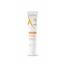A-DERMA PROTECT FLUIDE INVISIBLE SANS PARFUM SPF50 50ML