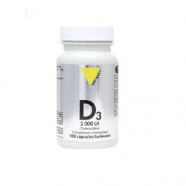 Vitalplus vitamine D3 2000UI cholécalciférol 50mcg