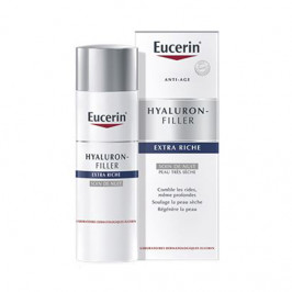 Eucerin Hyaluron-Filler Extra Riche Soin de Nuit 50 ml