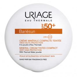 Uriage bariesun crème minérale compacte teintée claire spf50+ 10g