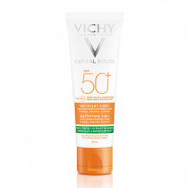 Vichy capital soleil matifiant 3-en-1 spf50+ 50ml