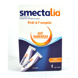 Smectalia suspension buvable 3g 12 sachets