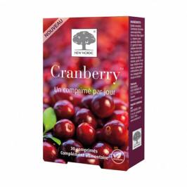 New nordic cranberry 30 comprimés