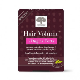 New nordic hair volume & ongles forts 60 comprimés
