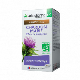 Arkogélules Chardon marie 45 gélules