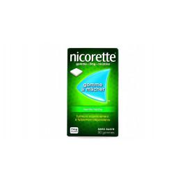 NICORETTE MENTHE FRAICHE 2mg SANS SUCRE gomme à mâcher médicamenteuse édulcorée au xylitol et à l'acésulfame potassique 30 gomme