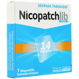 NICOPATCHLIB14MG BTE/7 (REMPLACE NICOPATCH)