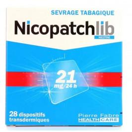 NICOPATCH 21MG BTE/28